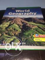 HOLT MCDOUGAL World Geography book
