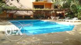 Modern Ground-Floor With Garden And Swimming Pool For Rent