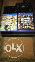 Ps4 excellent condition from france for sale with fifa 17 & gta5