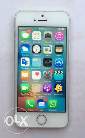iPhone 5s used 11 months - Sheikh Zayed