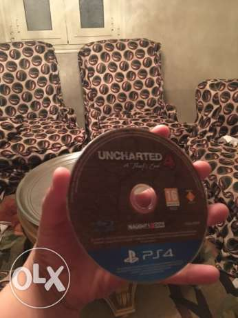 uncharted 4 for ps4 دمنهور -  2