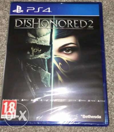 Ddishonored 2 PS4
