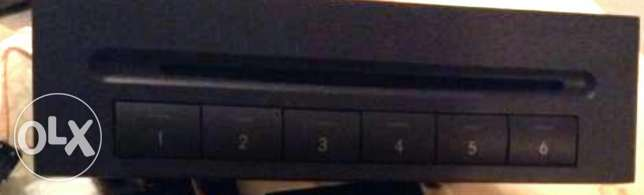 6 cds changer with excellent audio quality