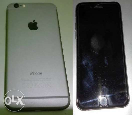 iphone 6 64G - silver for sale