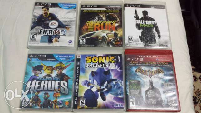 play station 3 hard 500 from American + 6 cd عين شمس -  3