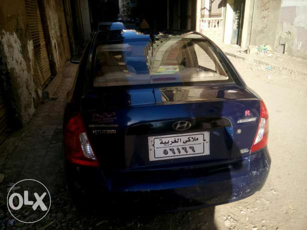 Hyundai new accent automatic طنطا -  2