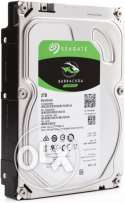 هارديسك 2 تيرا Seagate Barracuda 2TB (Sata 6Gb/s) 7200 rpm