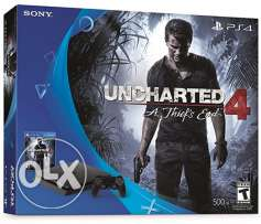Ps4 & uncharted Game box sealed zone 1 USA