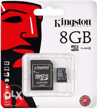 Kingston SD 8GB SDHC Memory Card