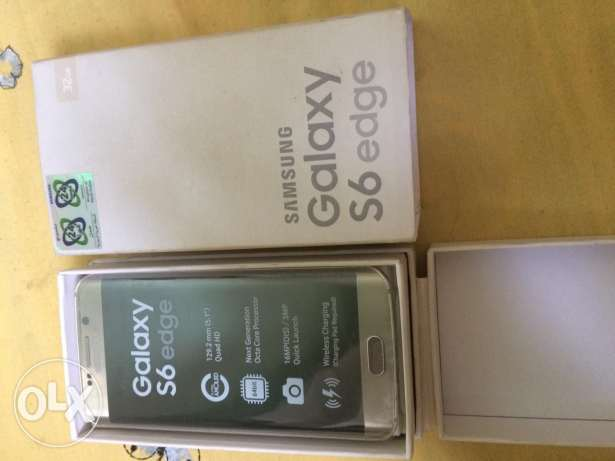 S6 edge platinum كسر زيرو