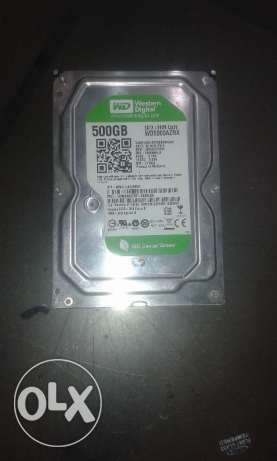 Hard Western Digtal Green 500G or Seagate 500G