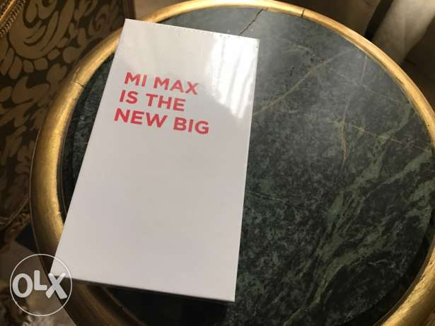 xiaomi mi max 32g sealed with warranty مدينة نصر -  1