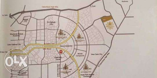 Icity cuzy appartment with lowest over price in market 123,51m القاهرة الجديدة -  2