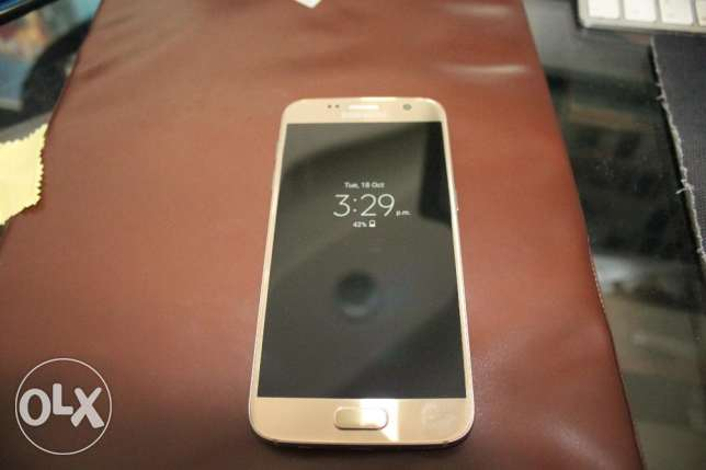 Samsung Galaxy s7 32gb Gold Like Zero مدينة الرحاب -  2