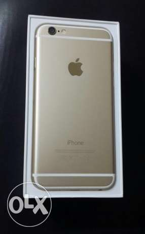 IPhone 6 gold 16 giga شبرا -  1