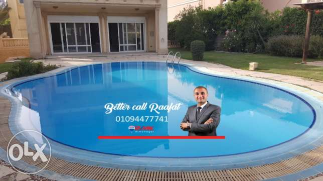 Villa for sale at Mirage City at prime location New Cairo