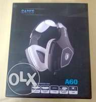 SADES A60/OMG Over Ear Stereo Gaming Headset **جديدة متبرشمة**