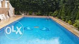 villa for sale in cfc compound fully finished with swimming pool