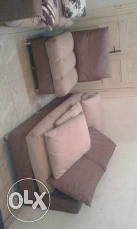 2 sofa L shape with one chair