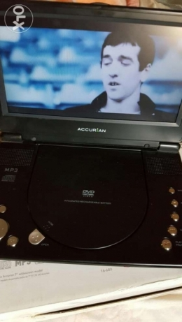 Dvd player 9بوصة Accur