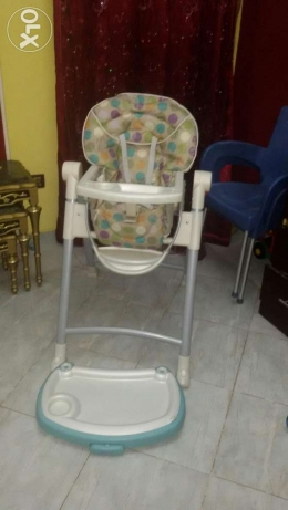 Graco high chair as new