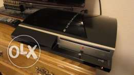 PS3 in a very good condition with 2 Games and 2 Joysticks