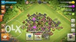 Clash of Clans Town hall 7 . 5 Buldier
