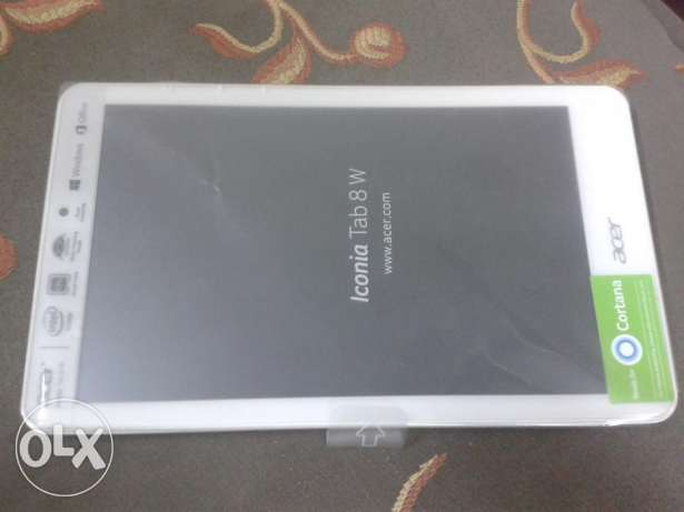Acer Iconia Tab 8W in excellent conditions like new المرج -  3