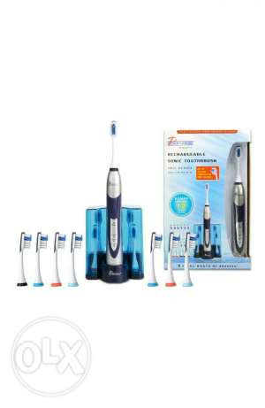 PURSONIC S500 White Ultra High Powered Sonic Electric Toothbrush