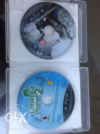 assasins creed and little big planet
