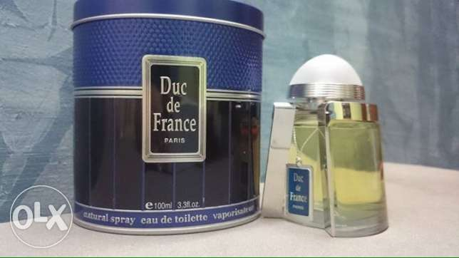 DUC DE FRANCE For Men 100 ml Green - blue - silver عين شمس -  3