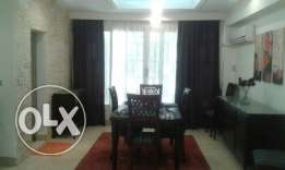 Ground Floor with Big Terrace Area For Rent Furnished in Maadi