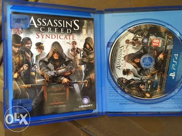 PS4 CD assassins creed كفر عبدو -  1