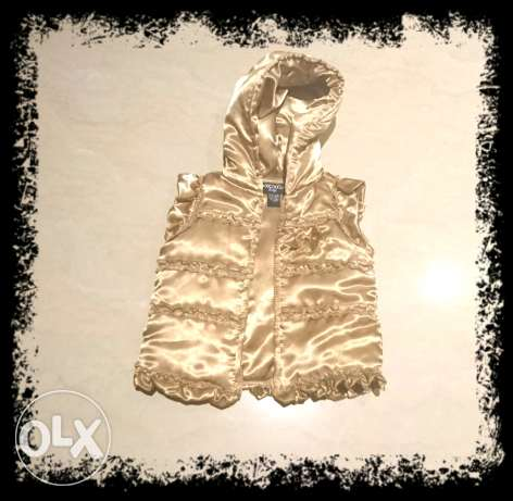 Gold vest 1-2 years