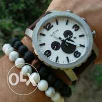 Fossil nate brown strap
