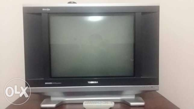 Toshiba tv. 21 inc