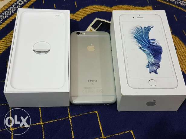 Iphone 6s 64 silver