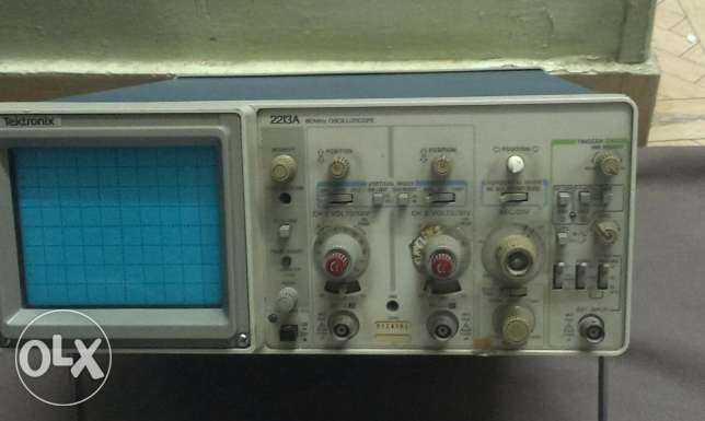 Oscilloscope Tektronix 2213A Analog 60 MHz USA أوسيلوسكوب حى الجيزة -  2