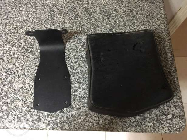rider backrest for honda Kawasaki Yamaha new not used القاهرة الجديدة -  3