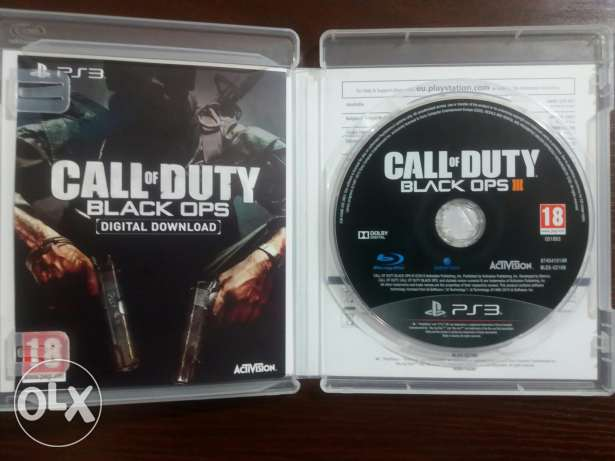 Call of Duty - Black Ops 3 + Black Ops 1 for ps3 مدينة نصر -  3