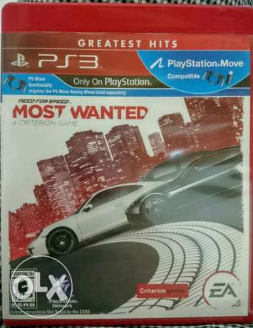 Need for speed most wanted ps3 nfs