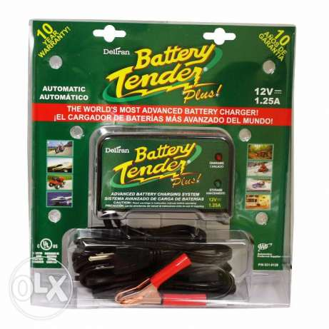 NEW in box Battery Charger Tender Plus from USA.