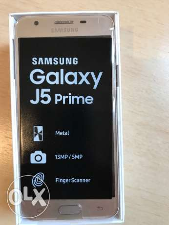 J5 prime Gold - ّOnly 1 week,, New