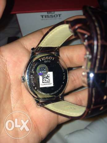 New unused brown leather tissot watch كفر عبدو -  1