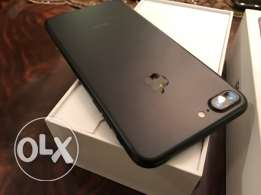 iphone 7 plus 32 black matte as new