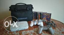 PlayStation PSone 2 controllers new Dreamcast bag memory card 3 discs