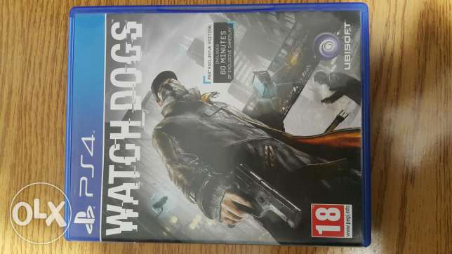 Watchdogs 1 (ps4 )