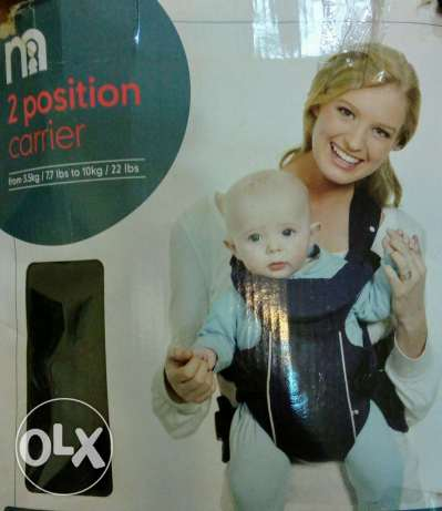 Mothercare baby carrier