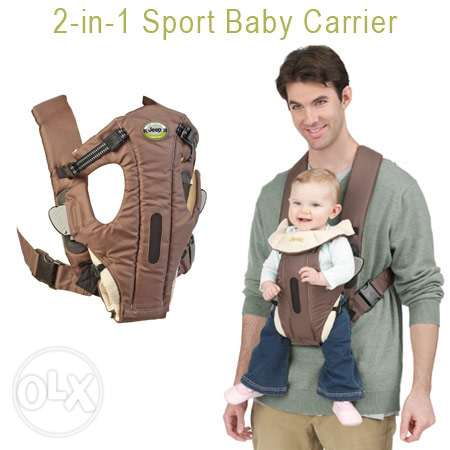 Jeep 2 in 1 Sport Baby Carrier - Like New with Box