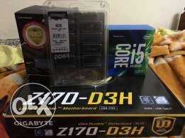 bundle i5 6600k - z170 - 8gb ddr4 - cryorig m9 cooler ضمام وكيل